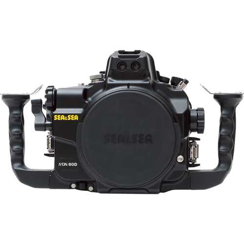 Sea&Sea housing for Canon EOS 80D MDX-80D front_500