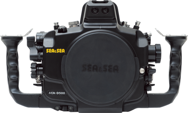 Sea&Sea housing for Nikon D500 MDX-D500 back
