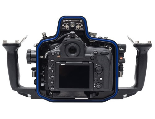 Sea&Sea housing for Nikon D850 MDX-850 back open