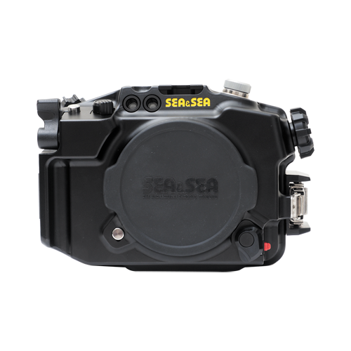 Sea&Sea housing for sony Alpha6300 MDX-alpha6300 front